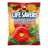 Life Savers 5 Flavors Hard Candy Bag, 177g
