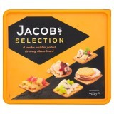 Jacob's Selection 8 Cracker Varieties 900g