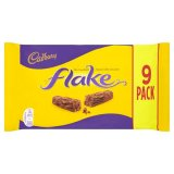 Cadbury Flake Chocolate Bar 9 Pack 180g