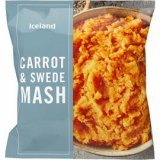 Iceland 600g Swede & Carrot mix