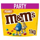 M&M's Peanut Chocolate Party Pouch 1kg