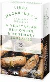 Linda Mc Vegetarian Red Onion & Rosemary Sausages 300g