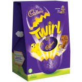 Cadbury Twirl Large Chocolate Easter Egg262g