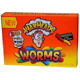 Warheads Sour Worms Theater Candy 113g