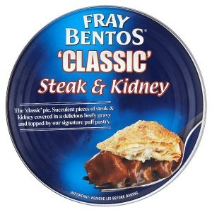 Fray Bentos 'Classic' Steak & Kidney Pie 475g