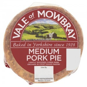 Vale of Mowbray Medium Pork Pie