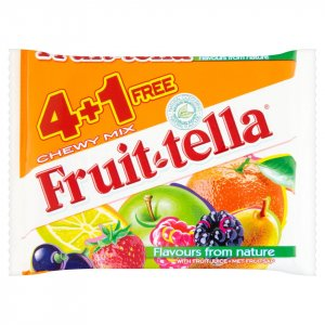Fruittella Chewy Mix 5 x 41g