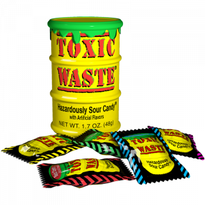 Toxic Waste Yellow Drum Extreme Sour Candy 56g