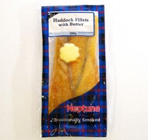 Smoked Haddock  in butter 200g